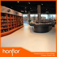 Pvc piso de vinil para loja de livro