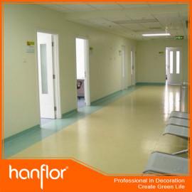 Calidad del vinilo del pvc hoja de piso del hospital