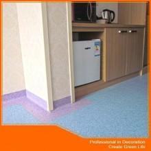Venda quente PVC pisos de vinil e PVC esponja piso revestimentos rolo interior 72