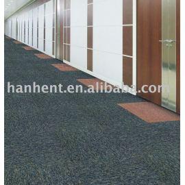 100% PP de la oficina azulejo de la alfombra de