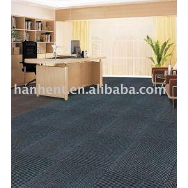 De Color liso en rollo de PP alfombra