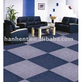 Alta calidad 100% de polipropileno azulejo de la alfombra de sala de estar