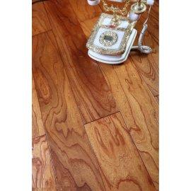 Handscrap grano piso laminado