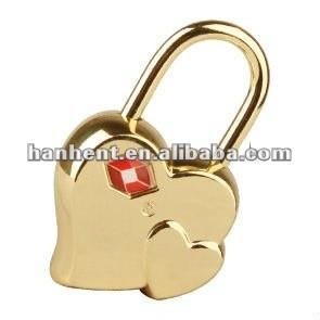 Hermosa forma de corazón de bloqueo. Pad lock, Bloqueo de teclas