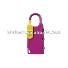 3 dígitos alta Security Lock equipaje