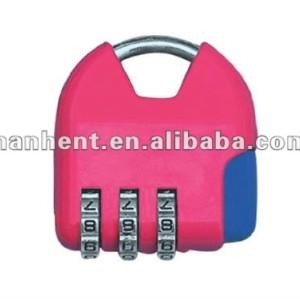De aleación de Zinc de 3 dígitos lindo equipaje de bloqueo