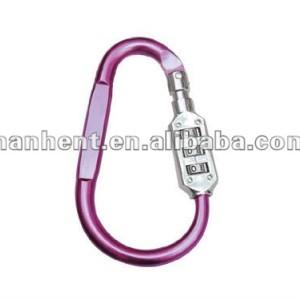 De color rosa del diseño del anillo de equipaje sin llave de bloqueo