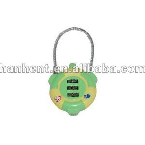 Retráctil sin llave 3 marque cerradura de combinación