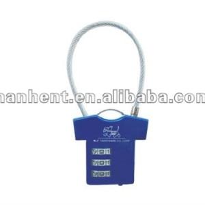 Diseño lindo mini 3 marque cerradura de combinación