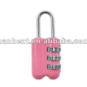 De color rosa cerradura de combinación