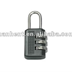 De Metal 3 dial del reajuste del equipaje cerraduras de combinación