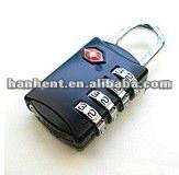 Alta de seguridad 3 dial de equipaje cierre tsa