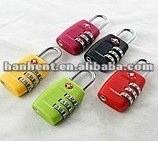 Colorida de la alta moda cerraduras de equipaje 335