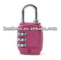 Tsa rosa fuerte con combinación de bloqueo