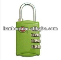 Tsa verde sin llave cerradura de combinación