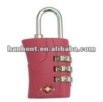 Tsa rosa fuerte con combinación cerraduras 359