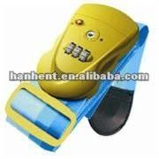 Tsa azul seguro de la correa de cerradura de combinación