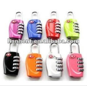 Tsa 330 colores del equipaje cerradura de combinación