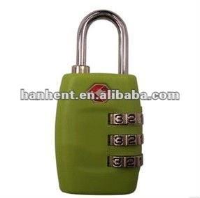 Tsa verde tiempo de viaje del equipaje de bloqueo