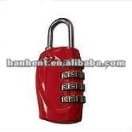 Tsa rouge mini personnalisé bagages serrure