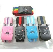 Tsa 3 Dial de equipaje personalizada de la correa