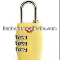 Tsa de seguridad ASB del equipaje cerradura de combinación