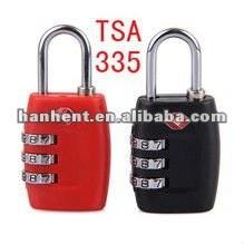 Tsa 335 cerradura del bolso del equipaje