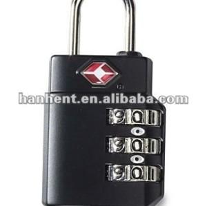 Tsa 3 dial de equipaje de bloqueo