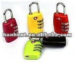 Tsa color combinación de equipaje de bloqueo
