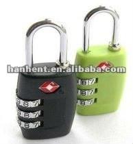 Tsa maletín de metal cerradura de combinación