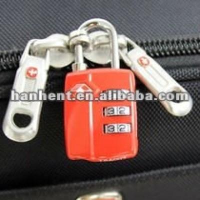 Combinación maletín cerraduras