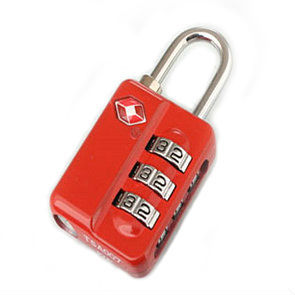 Tsa21009 bloquear 3-Dail combinación TSA bloqueo