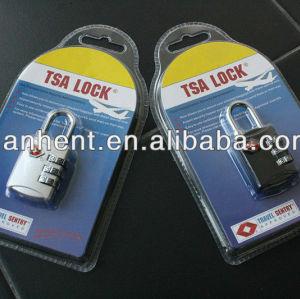 Tsa-302 equipaje ( con código de bloqueo, Bloqueo de seguridad )