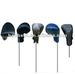 Lana de punto pelota de golf club head covers