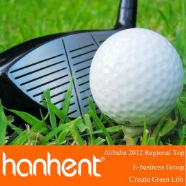 Barato de colores pelota de Golf para la promoción navidad