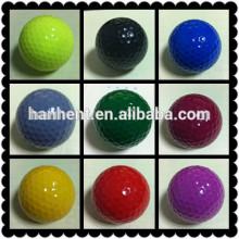 Colorido exercício bolas de golfe