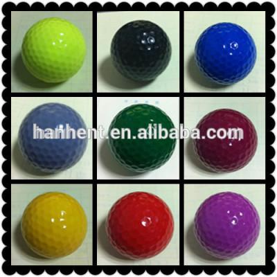 Colorido del ejercicio del golf bolas