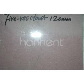 Fuego - resistencia a altas temperaturas 12 mm de yeso de placa de yeso