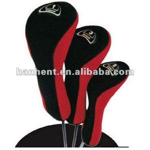Lindos pelota de golf club cubierta de la cabeza