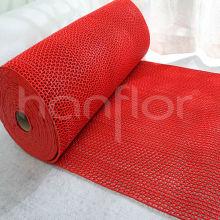 Pvc borracha tecido tapete de banho