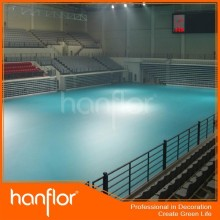 Extra fino qualidade piso de pvc para tribunal esportes / ginásio