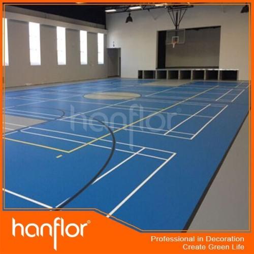 Extra fino calidad suelo de pvc para los deportes / gimnasio