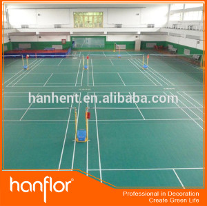 Alta calidad del vinilo del PVC sports flooring para gimnasio