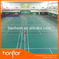 Haute qualité PVC vinyle sport sols gym
