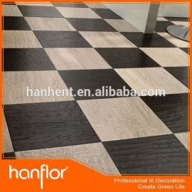 Superior calidad de vinilo azulejos de suelo con el sonido de absorción de impactos