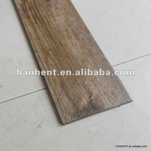 De madera de vinilo en relieve click suelo