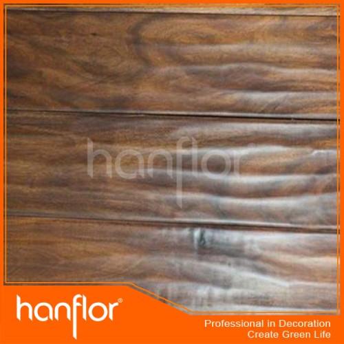 Gracia de madera pvc / tablones de vinilo del suelo