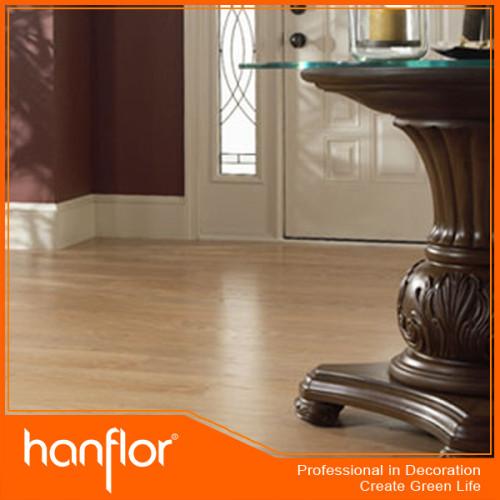 3 mm textura de madera láminas de vinilo pisos para uso comercial