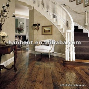 Rústico de madera residencial suelo de PVC