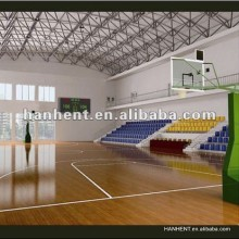 Playground Indoor textura de madeira pisos de vinil